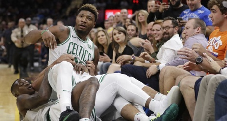 code promo b1cc3 b69a7 Marcus Smart explained why he showed up to the Celtics ...