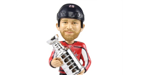 76382b70708 Lars Eller Stanley Cup Bobblehead Review. Capitals Outsider