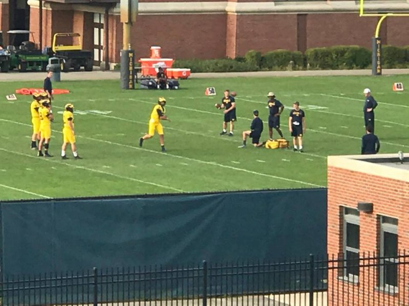 best service 86c99 2abe0 Maize Uniforms CONFIRMED: More Photos Emerge Of Michigan's ...