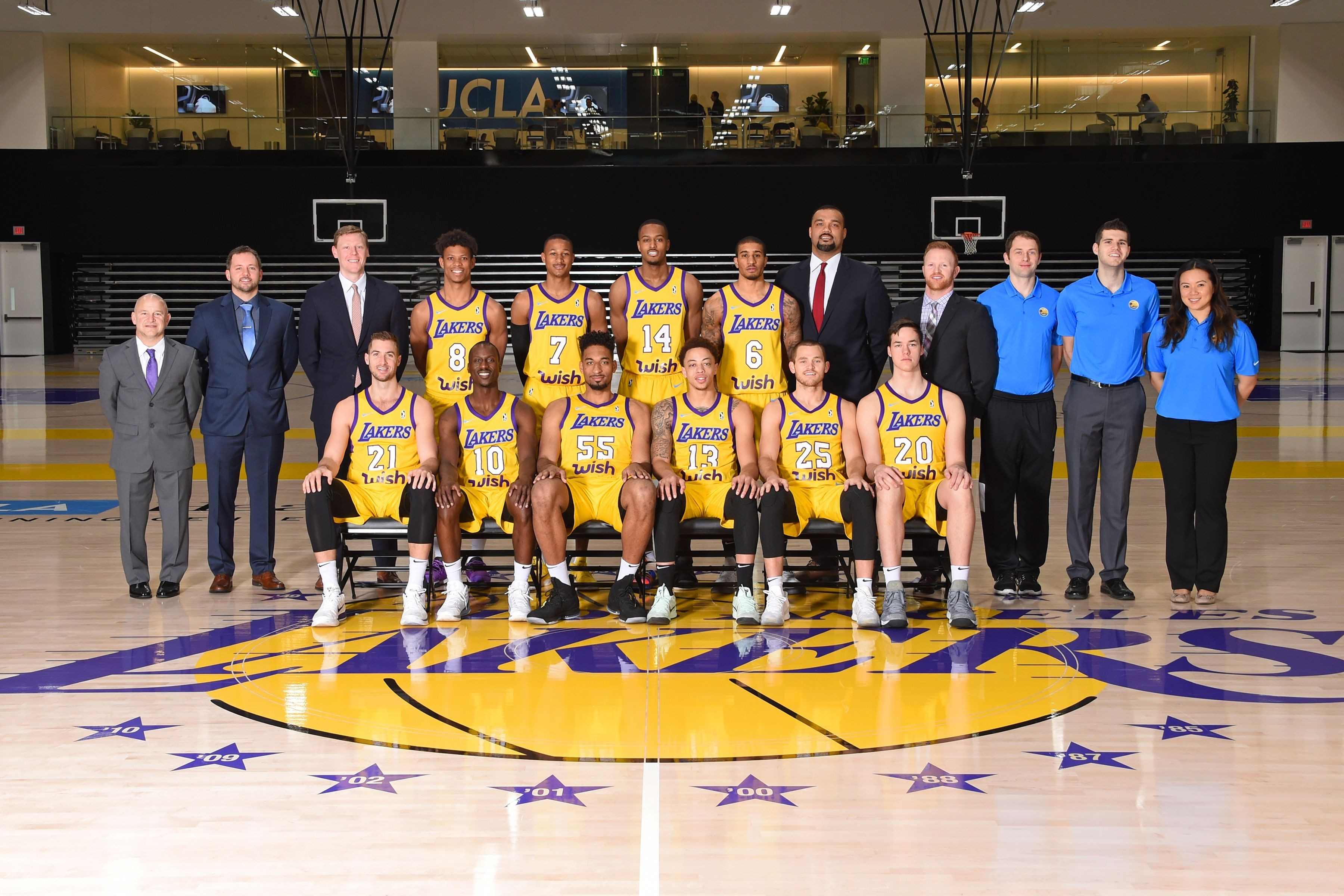 South Bay Lakers win second matchup with the Memphis Hustle