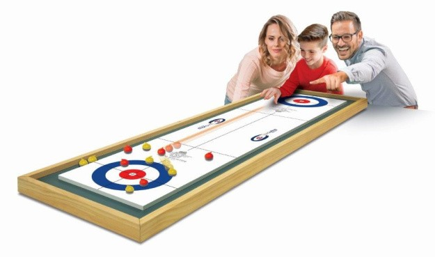 Team Shuster tabletop curling game to hit stores