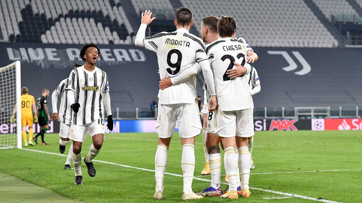 Morata's Stoppage-Time Winner Sends Juventus to Champions League Last 16